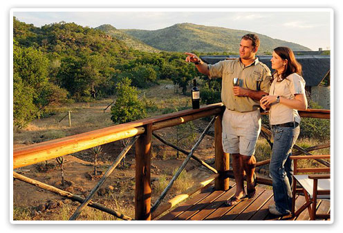 Deck Pilanesberg Private Lodge Luxury Accommodation Malaria Free Big Five Black Rhino Reserve Pilanesberg Game Reserve Accommodation Booking
