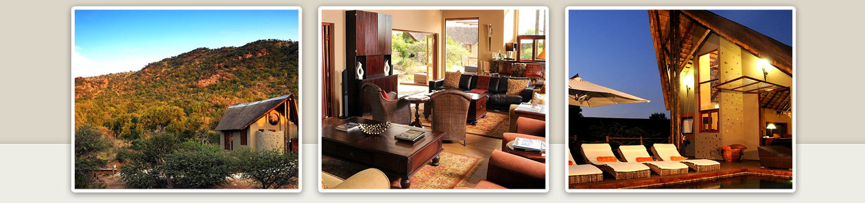 Pilanesberg Game Reserve Accommodation Booking Lounge Area Swimming Pool Area Pilanesberg Private Lodge Luxury Accommodation Malaria Free Big Five Black Rhino Reserve