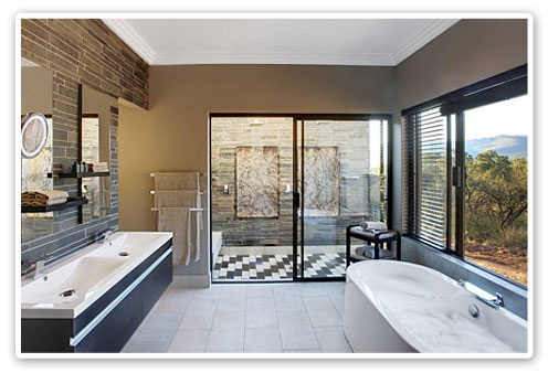 Executive Bathroom Suite,Shepherd's Tree Lodge,Malaria Free,Big Five,Pilanesberg Game Reserve,Accommodation Booking